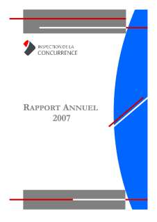 Version finale DB,Rapport annuel 2007 de l'Inspection de la concurrence, Version finale DB, Rapport annuel 2007 de l'Inspection de la concurrence